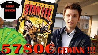 Stan Lee T Shirt Business 5780€ Gewinn !