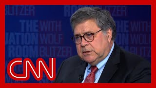 Bill Barr responds to what Trump said about him on Fox News