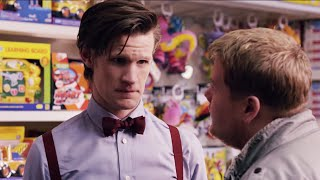 """""""I'm the Doctor, I work in a shop now""""   Closing Time   Doctor Who"""
