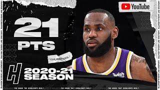 LeBron James 21 Pts 11 Ast Full Highlights vs Pelicans | January 15, 2021 | 2020-21 NBA Season