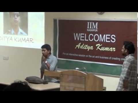 Aditya Kumar @ IIM Kashipur