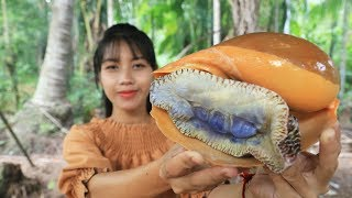 Yummy cooking monster sea snail recipe - Cooking skill