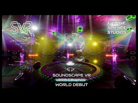 Watch Now! The world debut of Artist Link for the Soundscape VR platform!