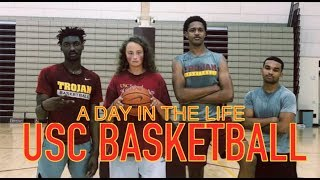 A Day in The Life of USC Basketball (ft. Jonah Mathews)