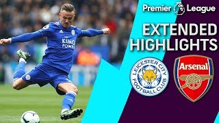 Leicester City v. Arsenal   PREMIER LEAGUE EXTENDED HIGHLIGHTS   4/28/19   NBC Sports