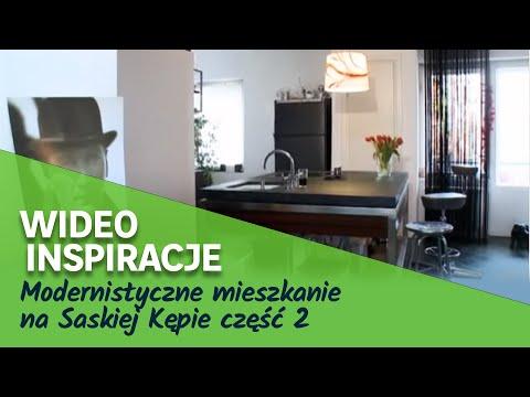 Modernistyczne mieszkanie na Saskiej Kępie część 2 (wideo)