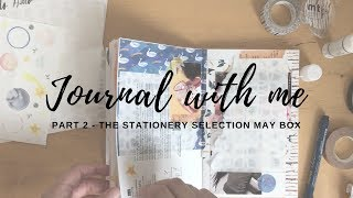 Journal With Me The Stationery Selection May Box Part 2