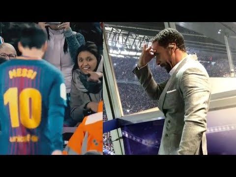 The Most Epic Reactions on Lionel Messi ► 2017-2018