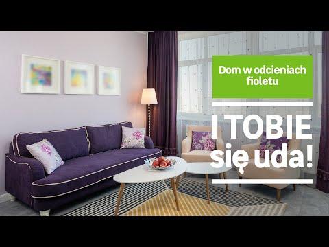 Dom w odcieniach fioletu (wideo)
