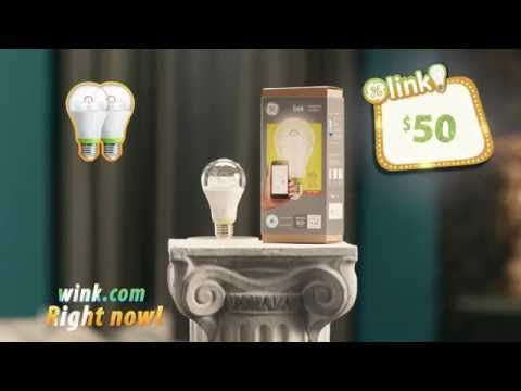 GE Link Lighting and Wink - Control your lights from anywhere