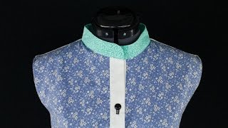 How to Sew a Band Collar