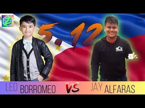 Leo Borromeo (5.12) vs Jay Benedict Alfaras (5.12) | Zyxian ᴴᴰ