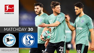 Schalke Have Been Relegated! | Arminia Bielefeld - FC Schalke 04 | 1-0 | Highlights | Matchday 30