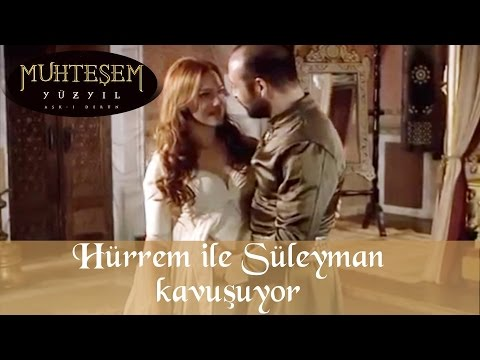Hürrem ile Süleyman Kavuşuyor - Muhteşem Yüzyıl 6.Bölüm