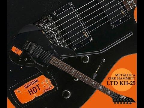 guitar ESP LTD KH-25 Kirk Hammett 25th Anniversary