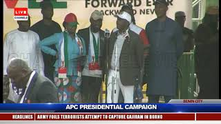 If You Don't Return Us To Power, They Will Abandon Our Projects – Amaechi |APC Benin Rally|