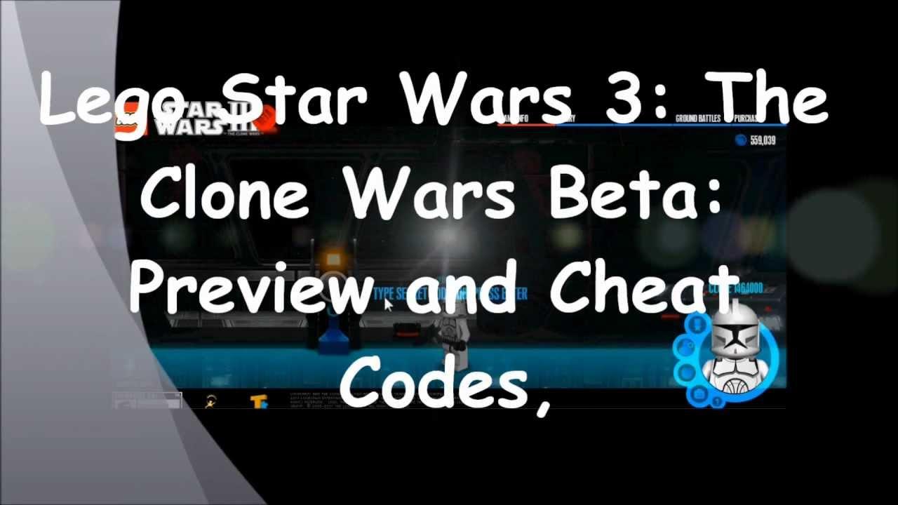 Lego Star Wars 3 Cheats