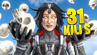 31 kills Horizon WORLD RECORD! - Apex Legends