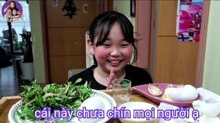 🇰🇷Vlog 235 || Ăn Trứng Vịt Lộn Cùng Ji Hye || 베트남부화직전 오리알 || Gia Đình Việt Hàn