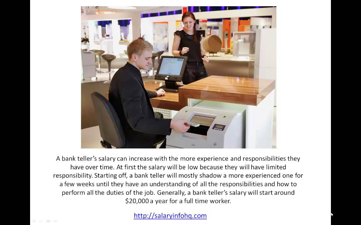 Learn More About Bank Teller Jobs And Salary Youtube