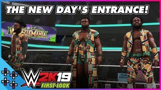 WWE 2K19: THE NEW DAY make their signature entrance!