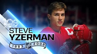 Steve Yzerman was Detroit's captain for 19 seasons