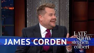 James Corden Rates Trump's Royal Performance