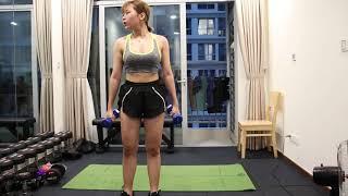 30 Phút Tập Giảm Mỡ Cơ Bản Cho Học Sinh Nữ Mới Tập GYM - HLV Ryan Long Fitness - YouTube