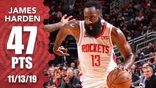 James Harden drops 47 points vs. Kawhi Leonard and the Clippers | 2019-20 NBA Highlights