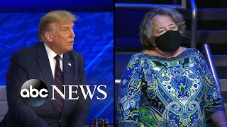 Trump's ABC News town hall: Trump responds to a question on a national mask mandate
