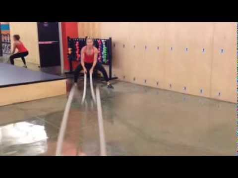 Undulating Rope Training at Castle Hill Fitness