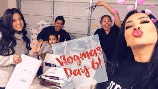 VLOGMAS DAY  6- MY FAMILY IS CRAZYYYY!!!