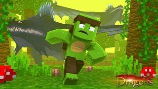 SKRILL ATTACK! - Minecraft Dragons S2 #7