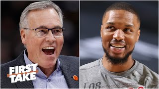 First Take reacts to Mike D'Antoni being interested in becoming the Blazers' head coach