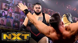 WWE NXT (10/21): Austin Theory Vs. Bronson Reed