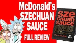McDonald's Szechuan Sauce Review -  I Review Crap!