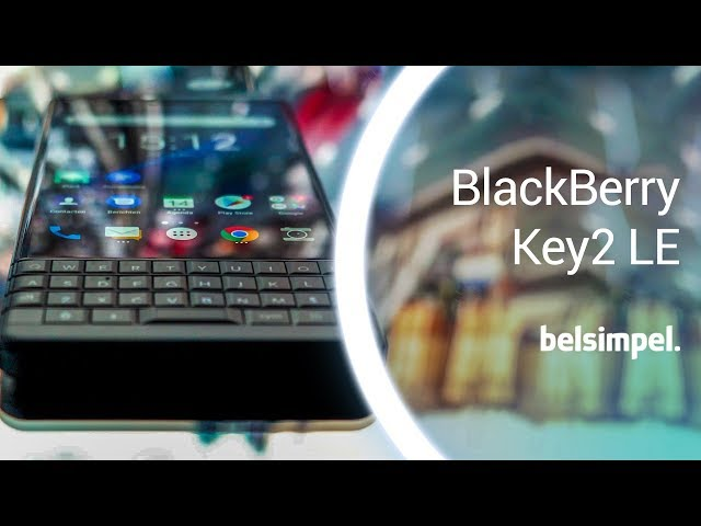 Belsimpel-productvideo voor de BlackBerry KEY2 LE