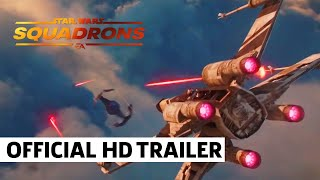 "Star Wars: Squadrons – Official Cinematic CG Short Trailer | ""Hunted"""