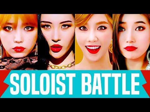 IU VS Taeyeon VS Sunmi VS Suzy | Soloist Battle