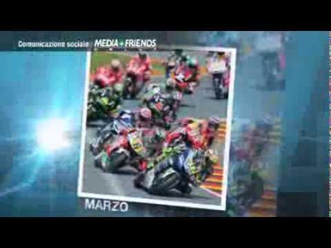 """Calendario MotoGP """"Route 2014 Il Viaggio Continua"""": Mediafriends per Spazio Vita"""