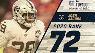 #72: Josh Jacobs (RB, Raiders) | Top 100 NFL Players of 2020