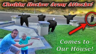 Chubby Hacker Army Led By the Game Master Returns! Captured & Locked in Box Fort!