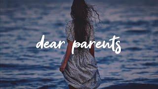 Tate McRae - dear parents... [Lyrics]
