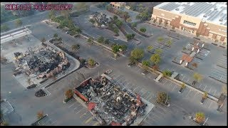 Wildfire 2017 California-Drone footage-Directed Energy Weapon