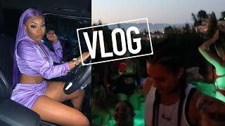 DATING A FEM?....CELEBRITY HOUSE PARTY ,OUT UNTIL 7AM...| VLOG