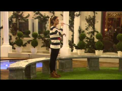 Sam Blows A 'reem' Tune On The Trumpet: Day 4, Celebrity Big Brother - Smashpipe Entertainment