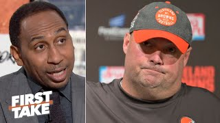 Freddie Kitchens is the wrong coach for the Browns - Stephen A. | First Take