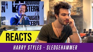 Producer Reacts to Harry Styles  - Sledgehammer Live