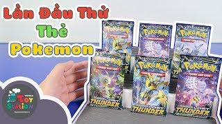 Lần đầu thử sưu tập thẻ Pokemon, tìm thẻ siêu hiếm Ultra Rare ToyStation 333