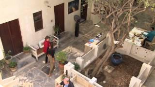 Tennis Star Ana Ivanovic visits Al Fahidi Historic Neighbourhood